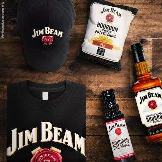 Free Jim Beam Cap and T-Shirt