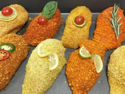 Luxury Chicken Kievs with an AVO Crumb and Gourmet Filling