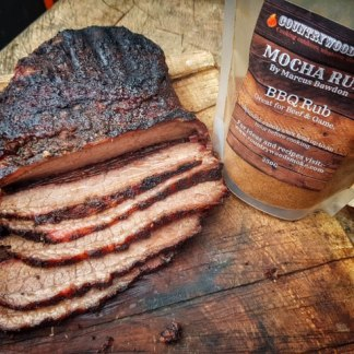 Country Wood Smoke Mocha Meat Rub