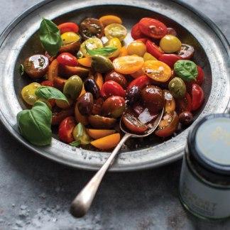 Dorset Flavoured Sea Salt - Tomato, Olive & Basil Flavour