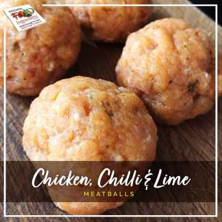 Chicken, Chilli and Lime Meatballs
