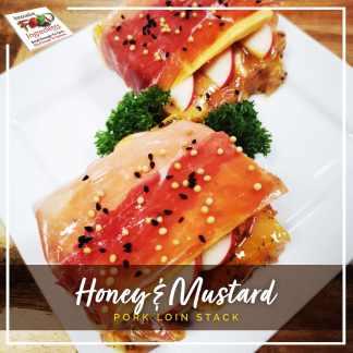 Honey & Mustard Pork Loin Stacks