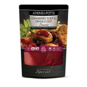 Atkins & Potts Cranberry, Port & Orange Zest Sauce