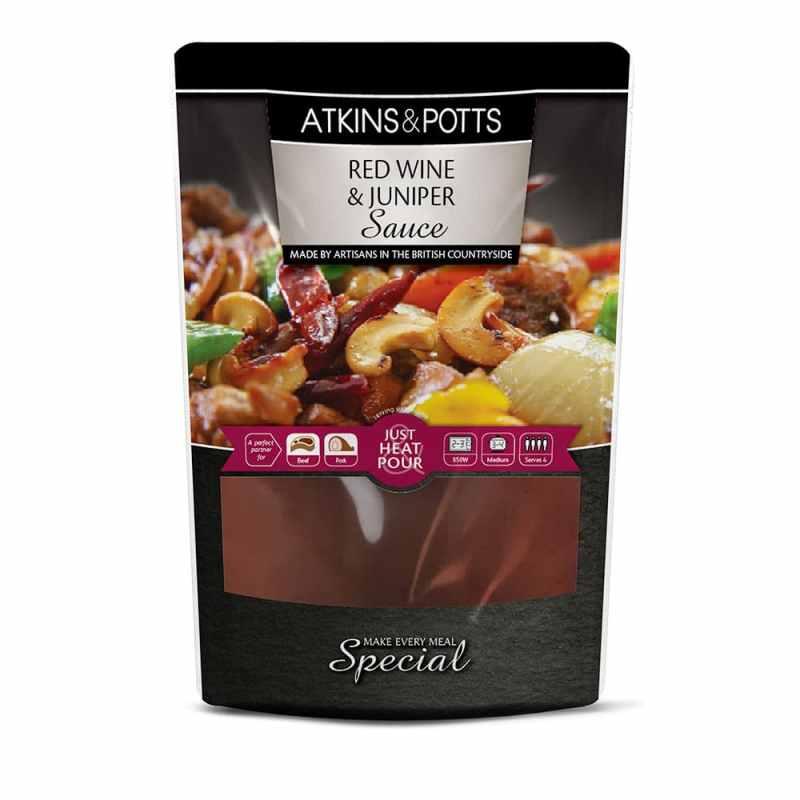 Atkins & Potts Red Wine & Juniper Sauce