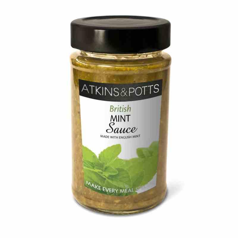Atkins & Potts British Mint Sauce With English Mint