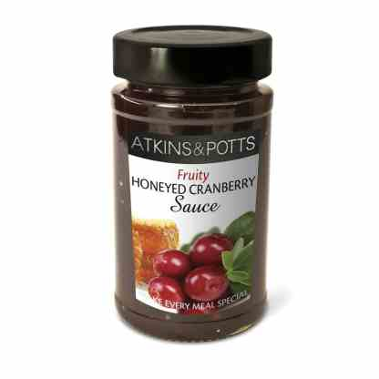 Atkins & Potts Fruity Honeyed Cranberry Sauce