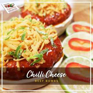 Chilli Cheese Beef Bombs