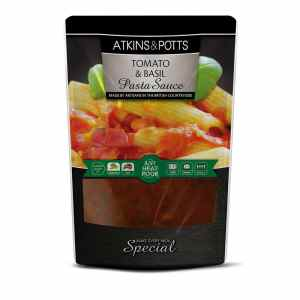 Atkins & Potts Tomato and Basil Pasta Sauce