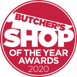 butchers shop of the year logo