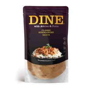 DINE IN with Atkins & Potts Stroganoff Sauce