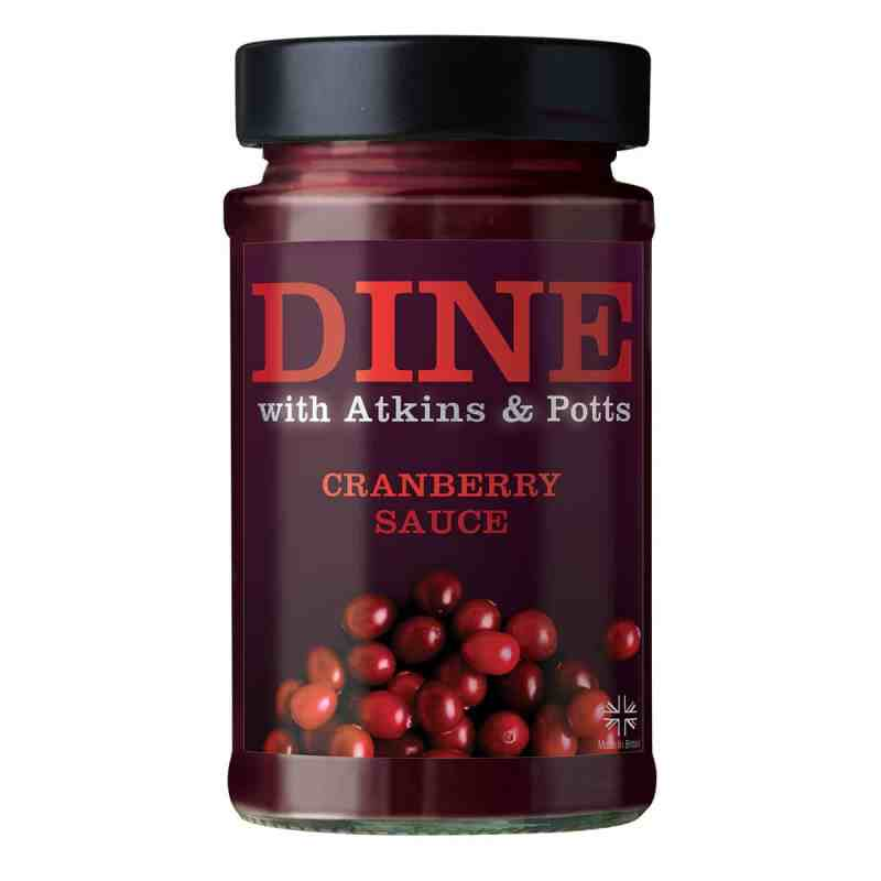 DINE IN with Atkins & Potts Cranberry Sauce