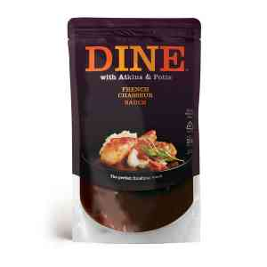 DINE IN with Atkins & Potts Chasseur Sauce