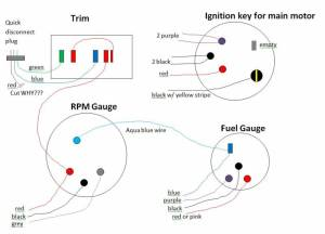 Wiring  electrical Questions for trim, other gauges,and