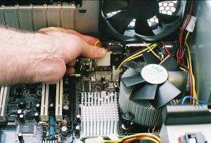 Build your own PC  Step 5: Making Motherboard Connections