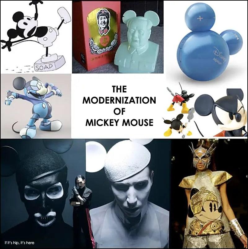 The modernization of Mickey Mouse