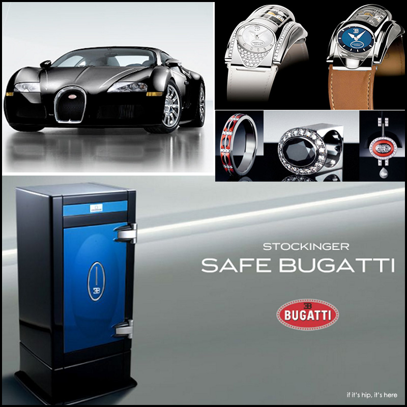 Stockinger Safe Bugatti Veyron
