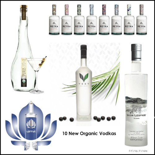 Read more about the article Can Imbibing Save The Planet? 10 New Green Vodkas