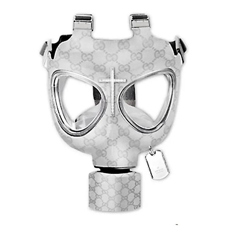 Gucci gas mask