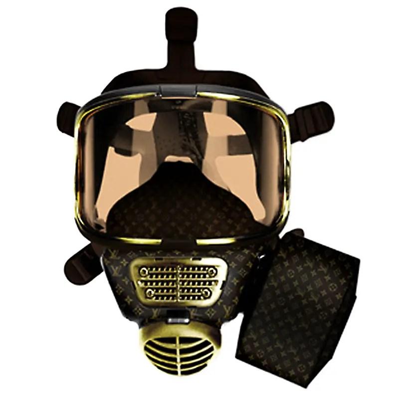 Louis Vuitton Gas Mask