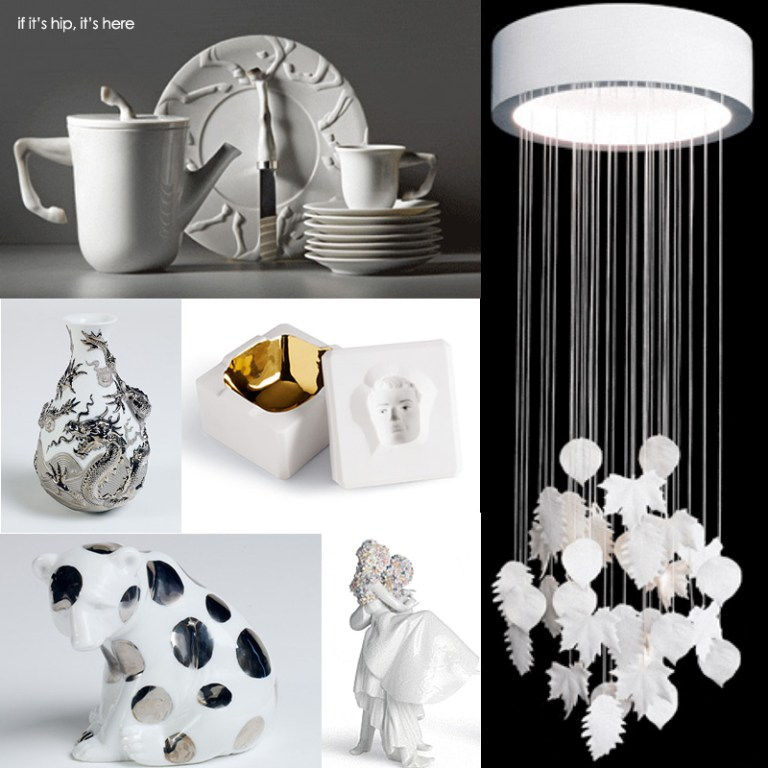 new Lladro Re-Cylos and Re•Deco pieces