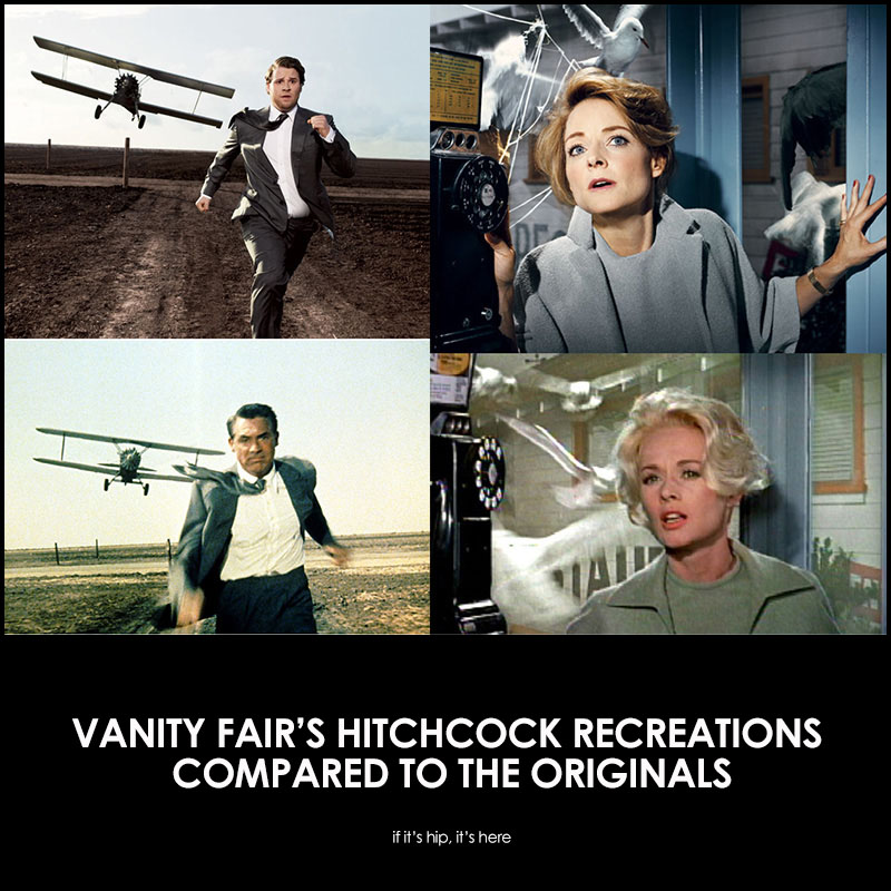 Hitchcock Recreations Compared To The Originals
