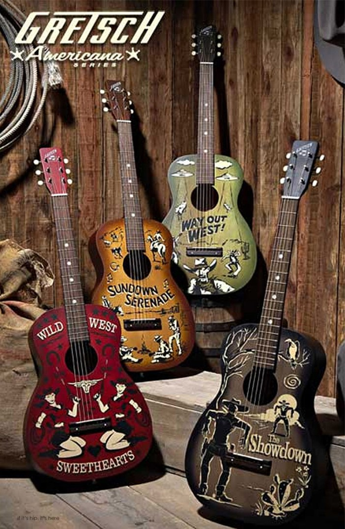 gretsch guitars americana series