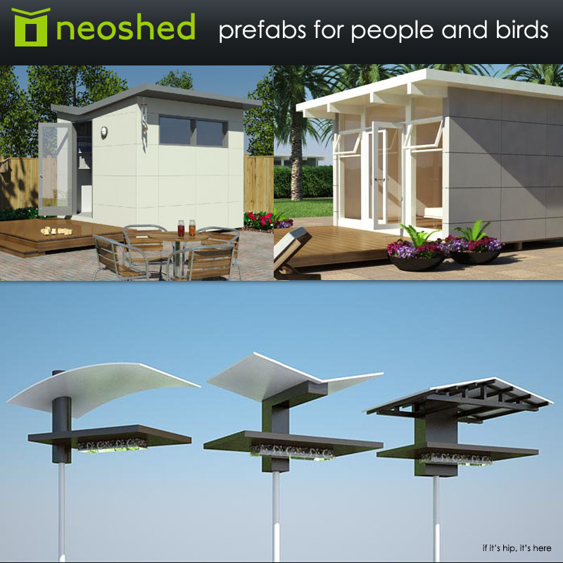 Neoshed prefab sheds and birdhouses