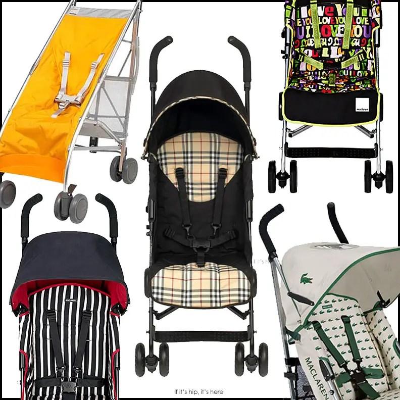 Designer maclaren Strollers IIHIH
