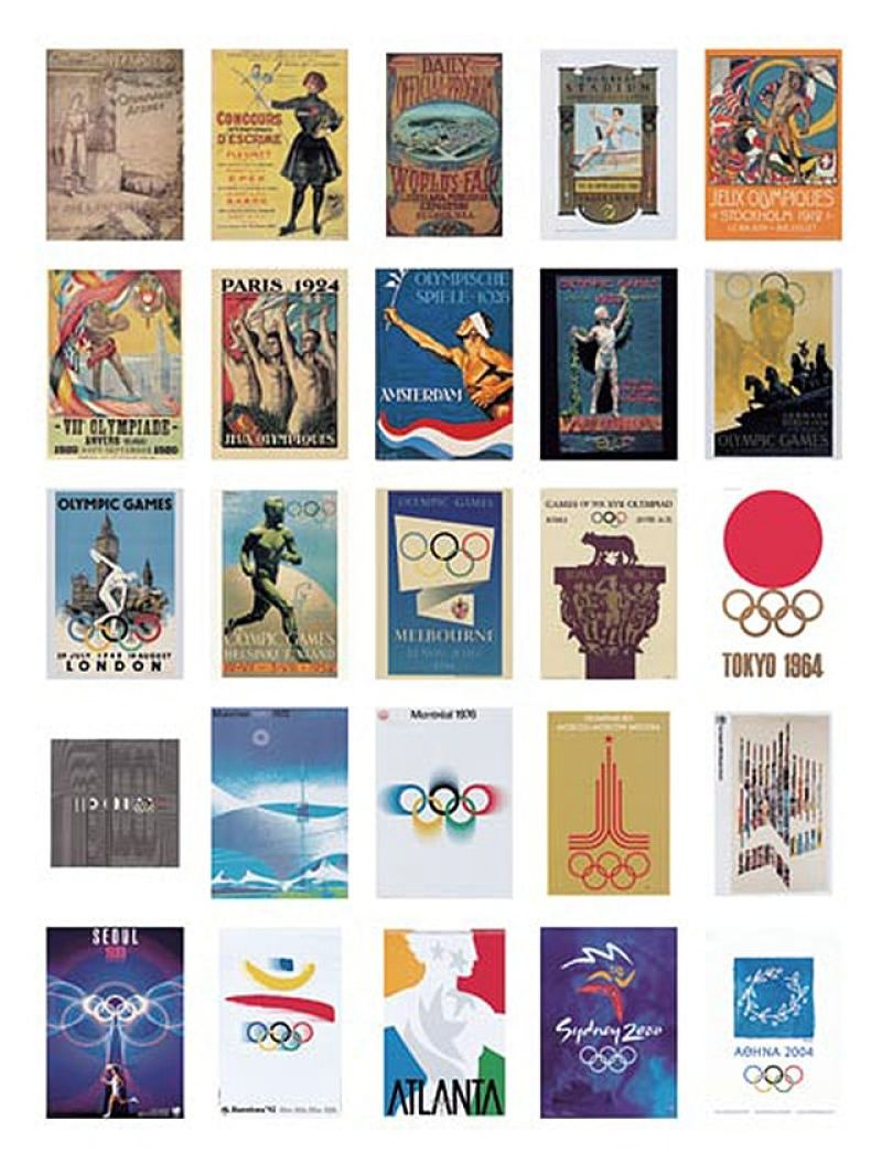 All The Olympic Posters Throughout History Amp The Story Behind Those 5 Rings If It S Hip It S Here