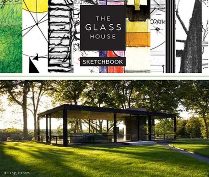 moleskine glass house sketchbook copy