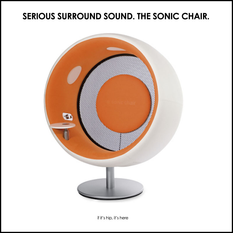 Talk About Surround Sound The Sonic Chair If Its Hip Its Here - Sonic-chair-modern-relaxing-chair-with-20-inch-imac