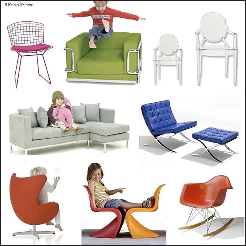 Modern Furniture Design Classics for Kids