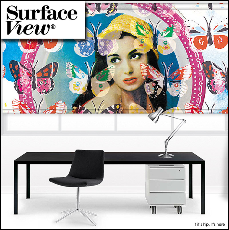 Surface View Printed Blinds