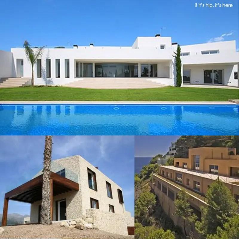 modern homes in mallorca