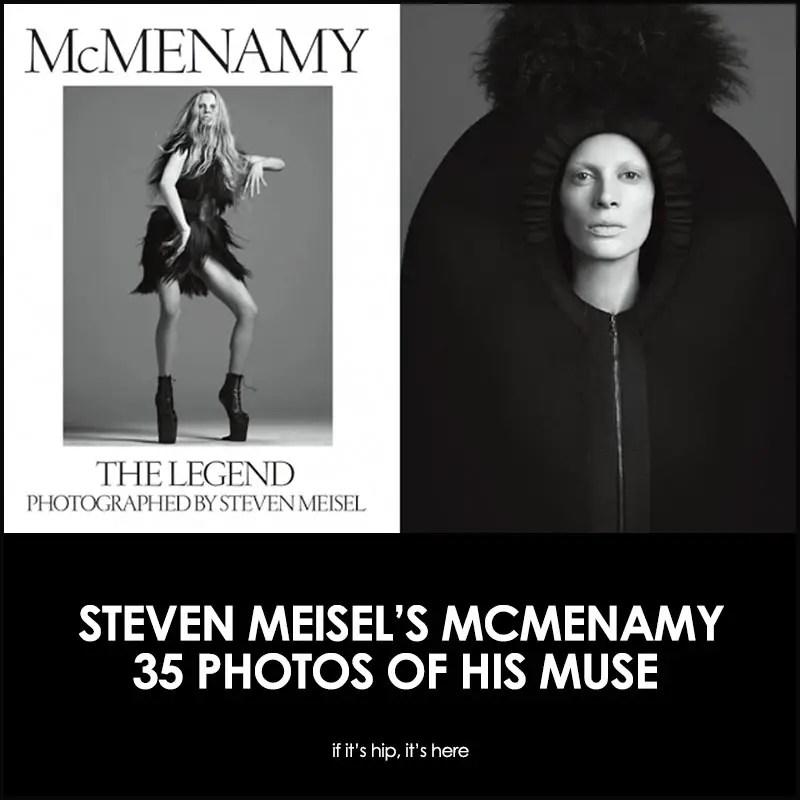 McMenamy The Legend by Steven Meisel