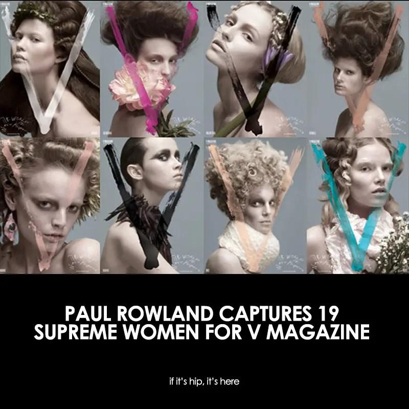 Paul Rowland V Magazine Covers