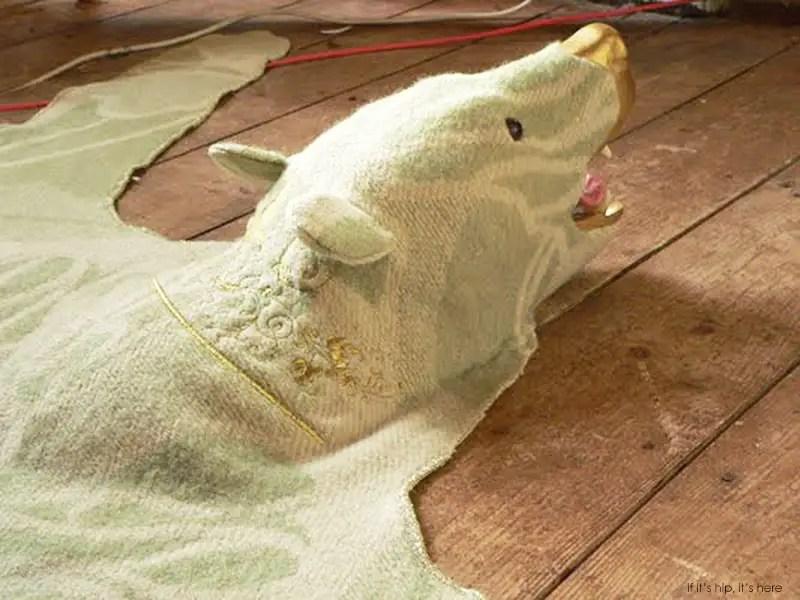 lisa lefebre bear rug