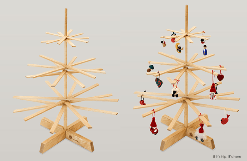 The Top Modern Wood Christmas Trees If It S Hip It S Here