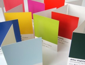 Pantone Inspired Christmas Posters & Cards. Christmas By Colour.