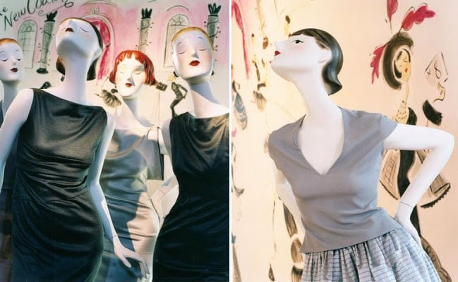 Chelsey Maclaren mannequins for pucci