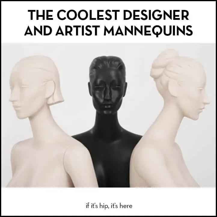 Artist Mannequins for Ralph Pucci