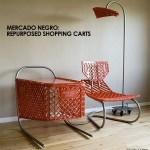 Ramon Coronado Repurposes Shopping Carts In His Mercado Negro Furniture