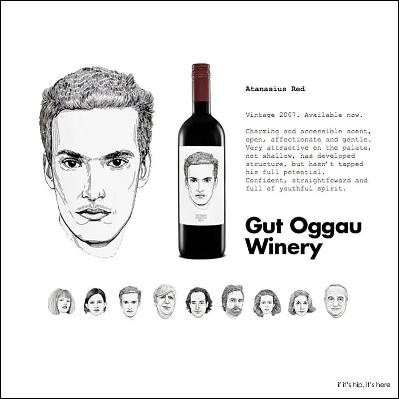 Gut Oggau wine labels