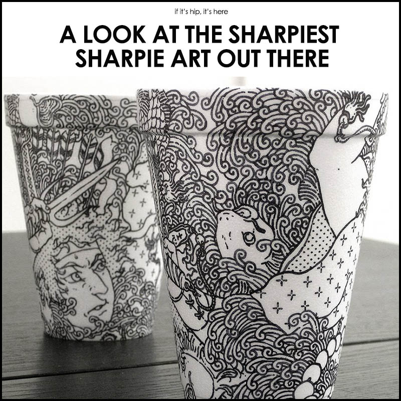 Sharpie art for Cool things to draw with markers