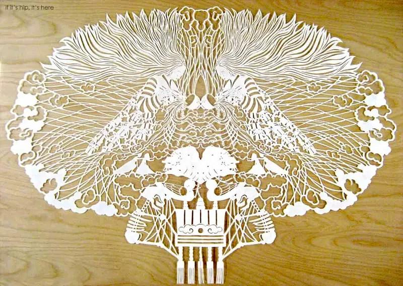 Cut Paper Art By Lorraine Nam