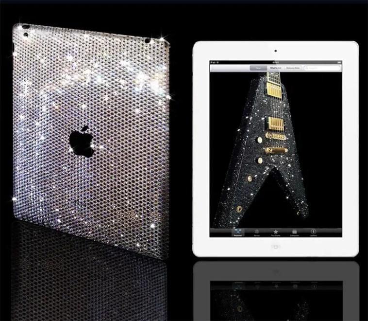 crystalrocked Swarovski embellished iPad cover