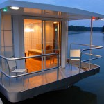 The MetroShip. A Modern Luxury Houseboat For $250k.