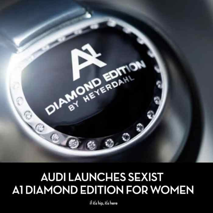 Audi launches sexist car for women