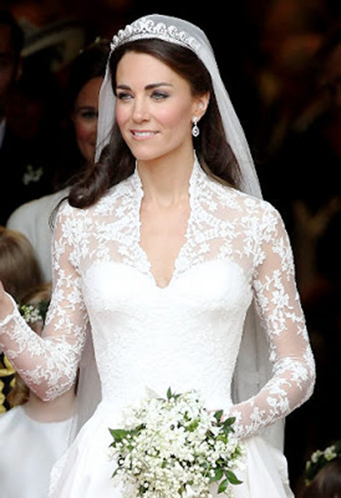 Kate Middleton Wedding Photos including the jewelry, cakes and more