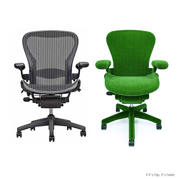 Read more about the article Japanese Botanical Artist Makoto Azuma Goes Green With The Classic Aeron Chair.
